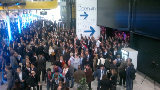 Crowd coming out of the keynote