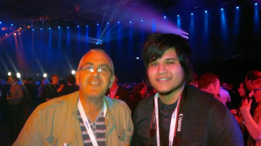 Some bloke with @JayMontano