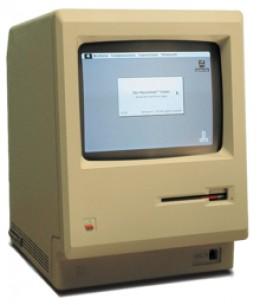 the original Macintosh personal computer