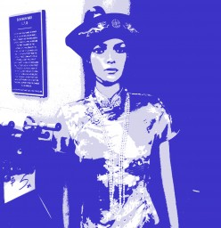 How to Create a Silk Screen Look in Photoshop CS5 using the Posterize Tool