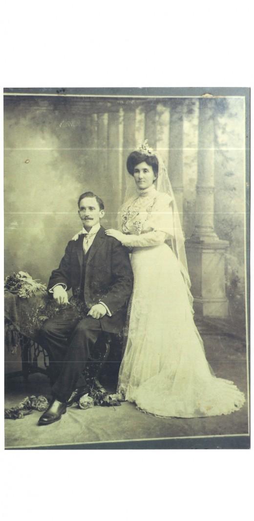 Ovidio Lamoso and Francisca Coira