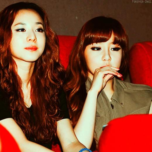 the park sisters 2ne1