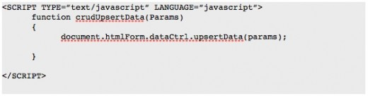 JavaScript / Java operations