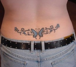 Tribal Tattoos For Women On Lower Back