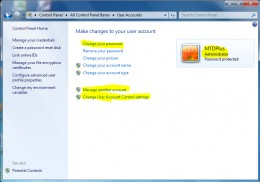 The UAC window! User Account Control window is very powerful and handle with caution.