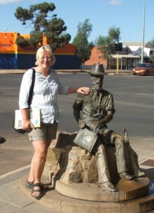 Lissie in Kalgoorlie, where the real gold is found!