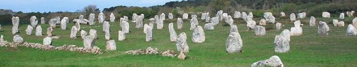 The Carnac Stones in Carnac, France