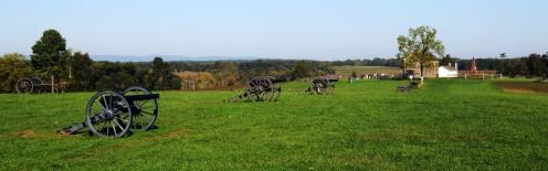 Confederate Artillery at Manassas National Battlefield Park