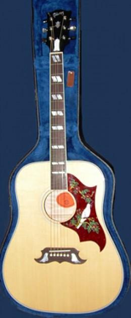 The Gibson Dove Dreadnought.