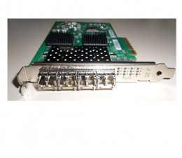 QLogic QLE2564 4 Quad Port 8Gb PCI-E HBA Fibre Adapter pic 1