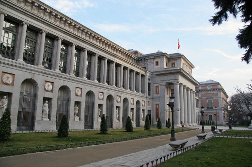Prado Museum in Madrid, Spain.