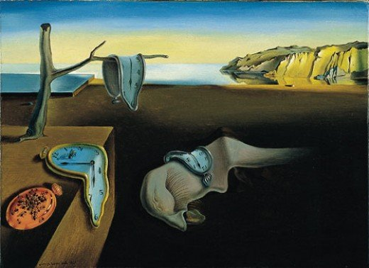 The Persistence of Memory by Salvador Dali.