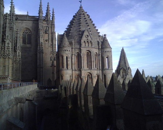 Old cathedral built in the 12th century.