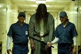 The ridiculously over-sized Michael Myers from Zombie's remake