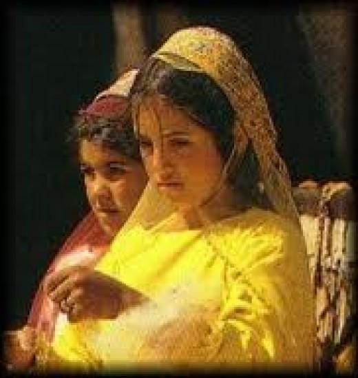 a Basseri woman