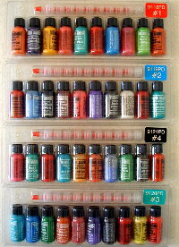 Tattoo inks come in countless shades and can be made out of numerous different chemicals.
