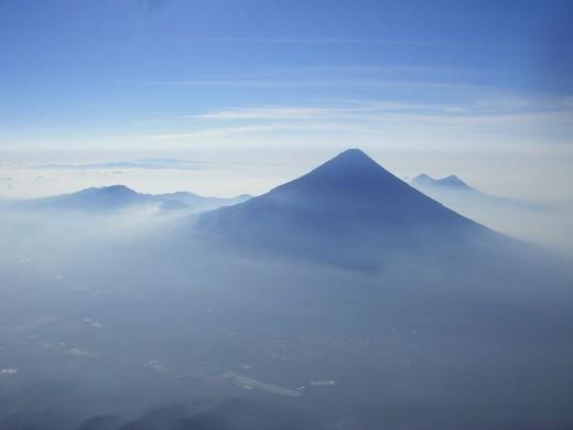 Volcán de Agua in Sacatepéquez, Guatemala
