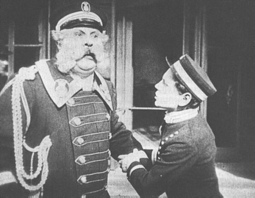 "Emil Jannings in  ""Der letzte Mann"" or The Last Laugh"