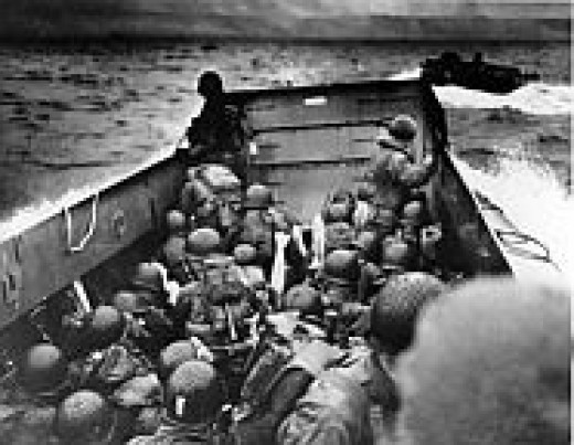 D Day Landing Craft.