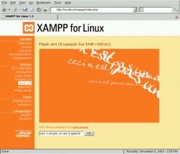 XAMPP on Linux