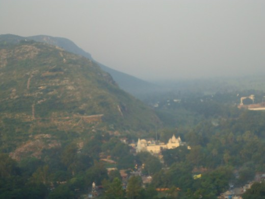 A view of Sammed Shikharji