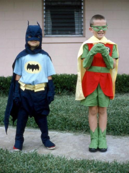 Batman and Robin!