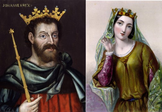 King John and Isabella of Angoulême