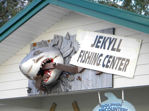 Now this is a cool bait and tackle shop!