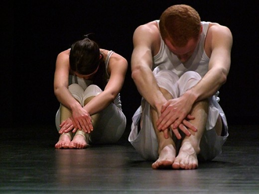 "Modern Dance Company, ""Flatback and cry e.V."" Production: ""patchwork on stage."""