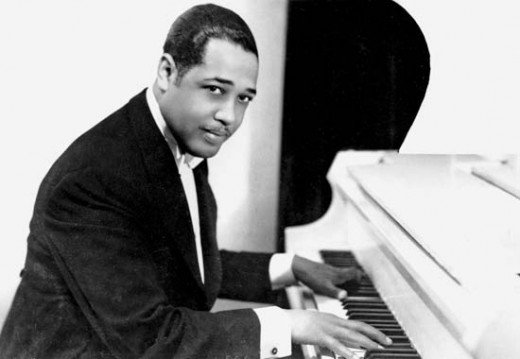 Smooth: Duke Ellington playing the piano in the earlier days of his career