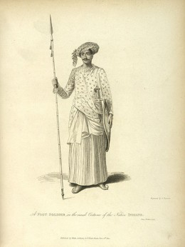 A Maratha Soldier of early 19th century