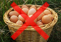 Don't put all your eggs in one basket!