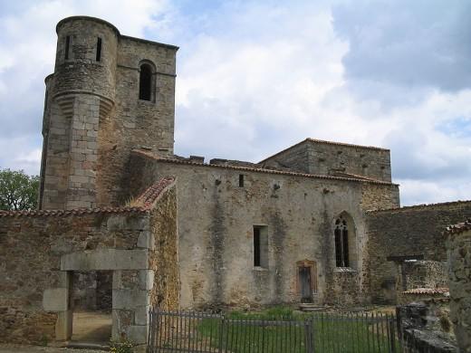 The burnt out church, Oradour-sur-Glane, France