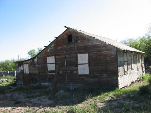 House built in 1925, Fairbank, Arizona