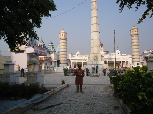 Hain temple of Lord Vasupujya, at Champapuri (Bhagalpur),Bihar.