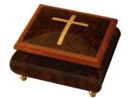 Beautiful Cherry Wood Music Box