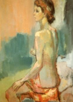 Sitting Nude I