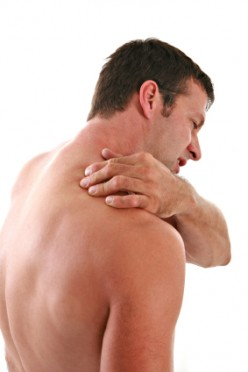 Shoulder joint pain