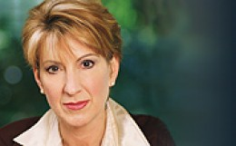 Carly Fiorina - Photo courtesy www.hp.com