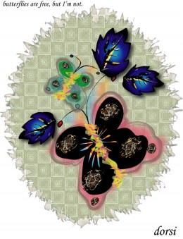 Butterfly art work
