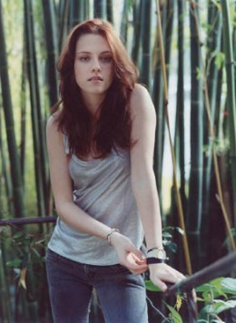 Kristen Stewart will be playing Bella in the upcoming Twilight movie.