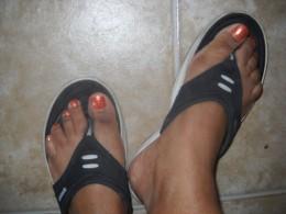 Best foot forward.