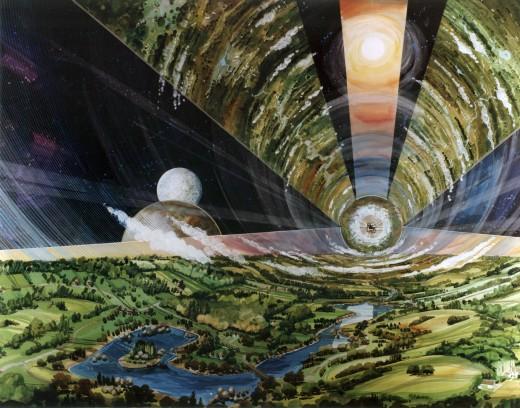 Nasa Space Colony artist impression