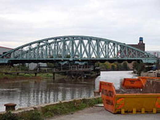 One of the hundred railway bridges needed on the Hull & Barnsley Railway undertaken by William Shelford and James Abernethy at the height of their careers