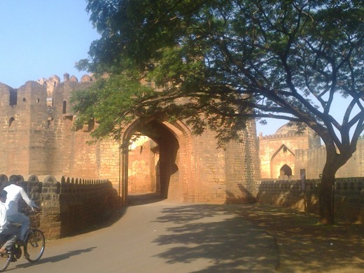 Bidar fort-Main enterence