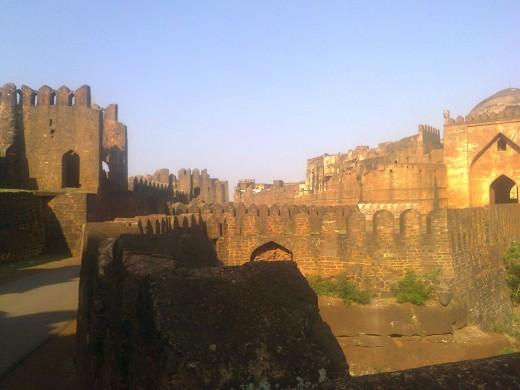 Bidar fort-inner circle