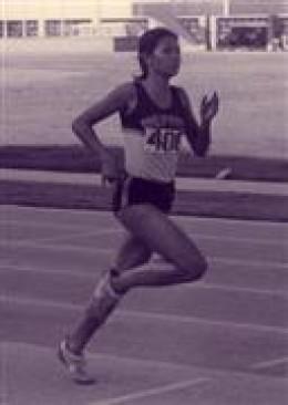LYDIA DELA VEGA, Asia's fastest woman