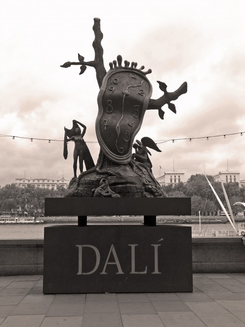 Dali Sculpture