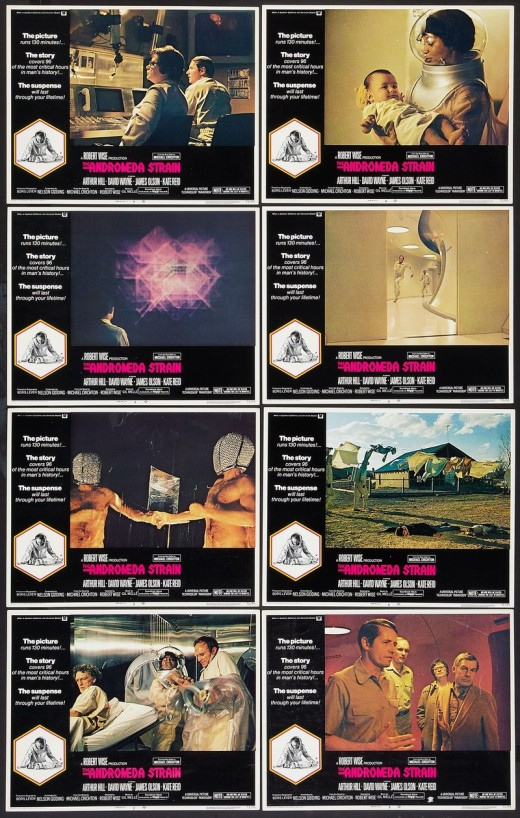 The Andromeda Strain (1971) Lobby Cards