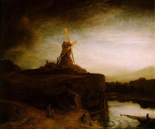 The Mill  ~Rembrant  c. 1650